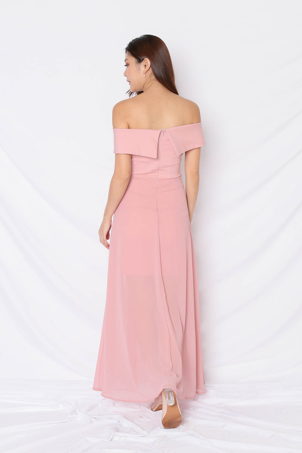 *TPZ* (PREMIUM) EDITH CROSSOVER MAXI IN PINK