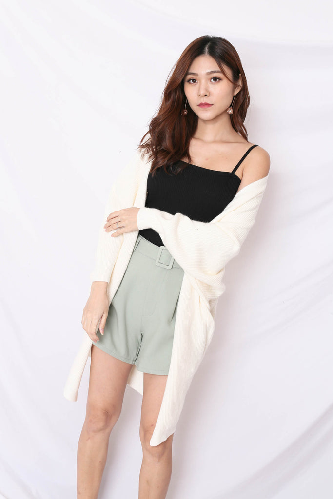 *BACKORDER* BEA COSY SOFT KNIT CARDIGAN IN CREAM