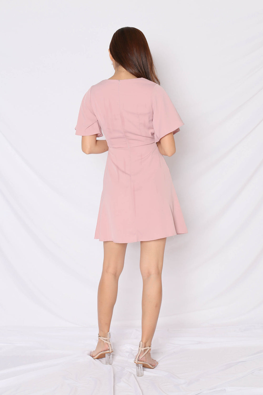 *TPZ* (PREMIUM) SHAY DRESS IN DUSTY PINK