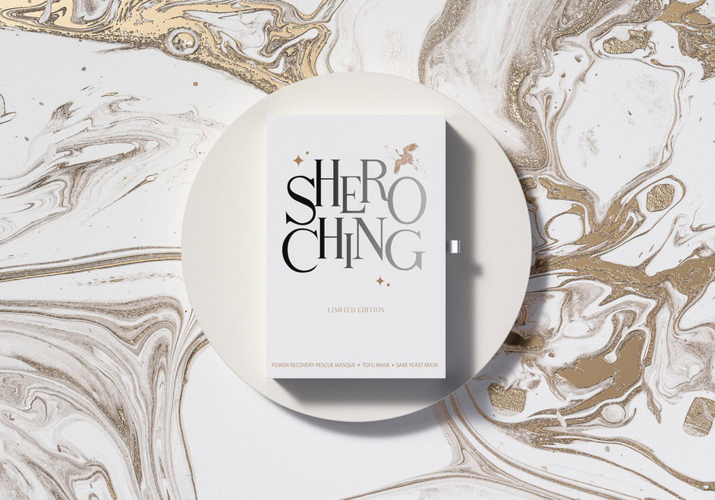 SHERO CHING LIMITED EDITION GIFT BOX (POWER RECOVERY RESCUE MASQUE, TOFU MASK, SAKE YEAST MASK)