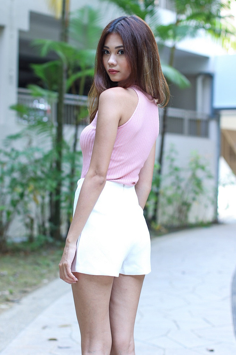 (RESTOCKED 4) MADDISON SOFT KNIT TOP IN BABY PINK
