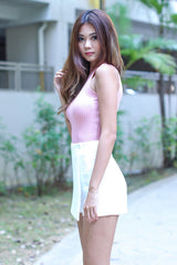 (RESTOCKED 4) MADDISON SOFT KNIT TOP IN BABY PINK - TOPAZETTE