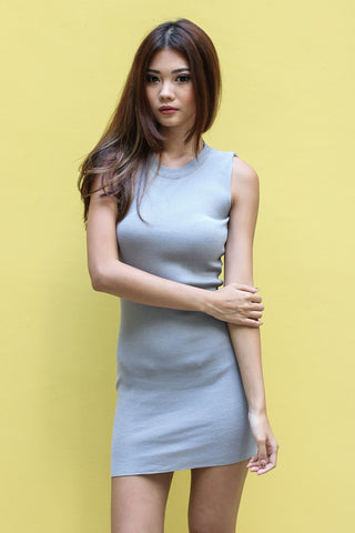 JACOBS REVERSIBLE DRESS IN GREY
