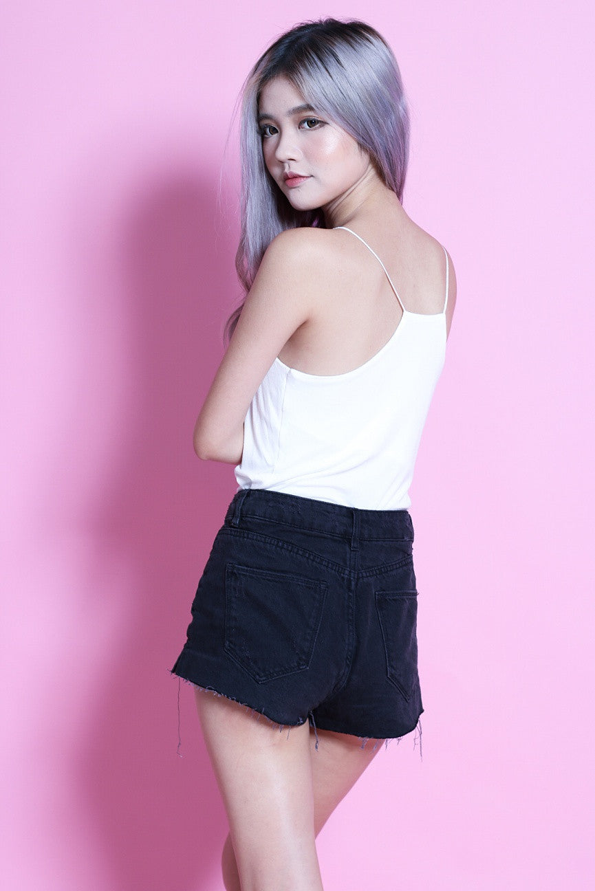 (RESTOCKED) RACER BACK COTTON TOP IN WHITE - TOPAZETTE