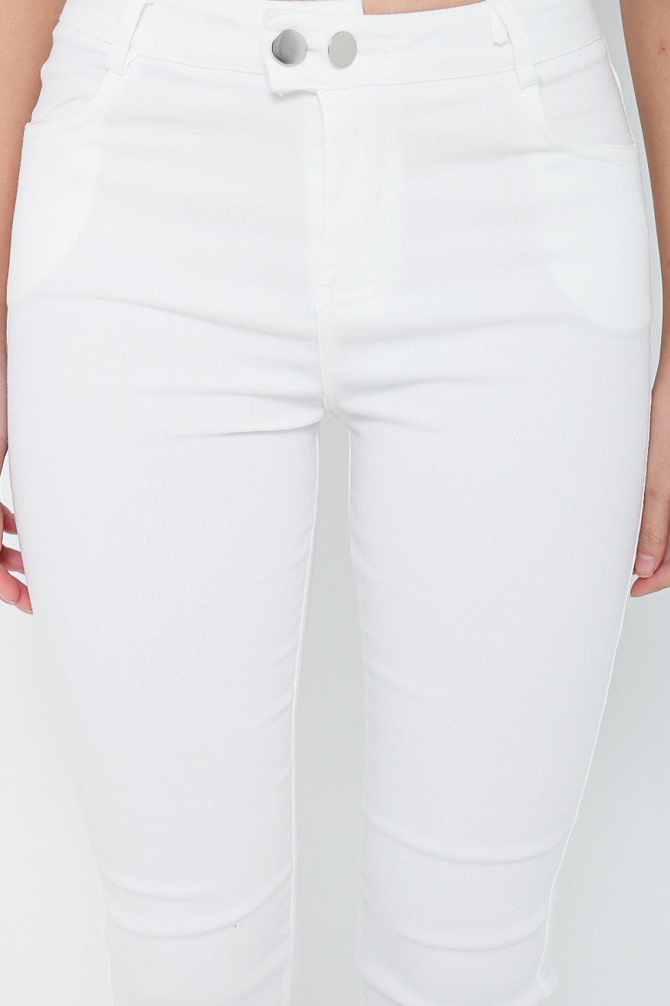(RESTOCKED 6) PERFECTLY YOURS DENIM JEGGINGS IN WHITE