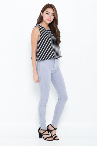 cf8d71aa1fda (RESTOCKED 6) PERFECTLY YOURS DENIM JEGGINGS IN GREY - TOPAZETTE