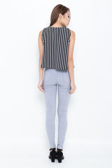 (RESTOCKED 6) PERFECTLY YOURS DENIM JEGGINGS IN GREY