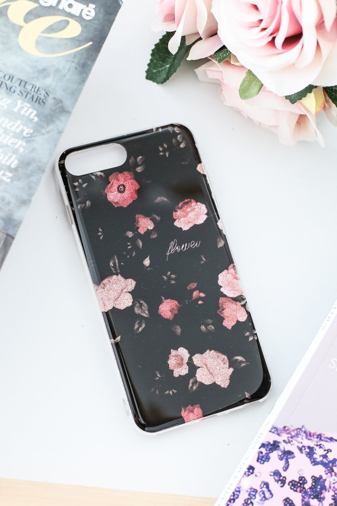 ALLURING FLORAL IPHONE 7+ CASING - TOPAZETTE