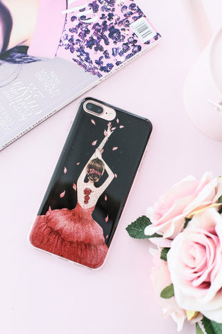 ALLURING WOMAN IN GOWN IPHONE 7+ CASING - TOPAZETTE