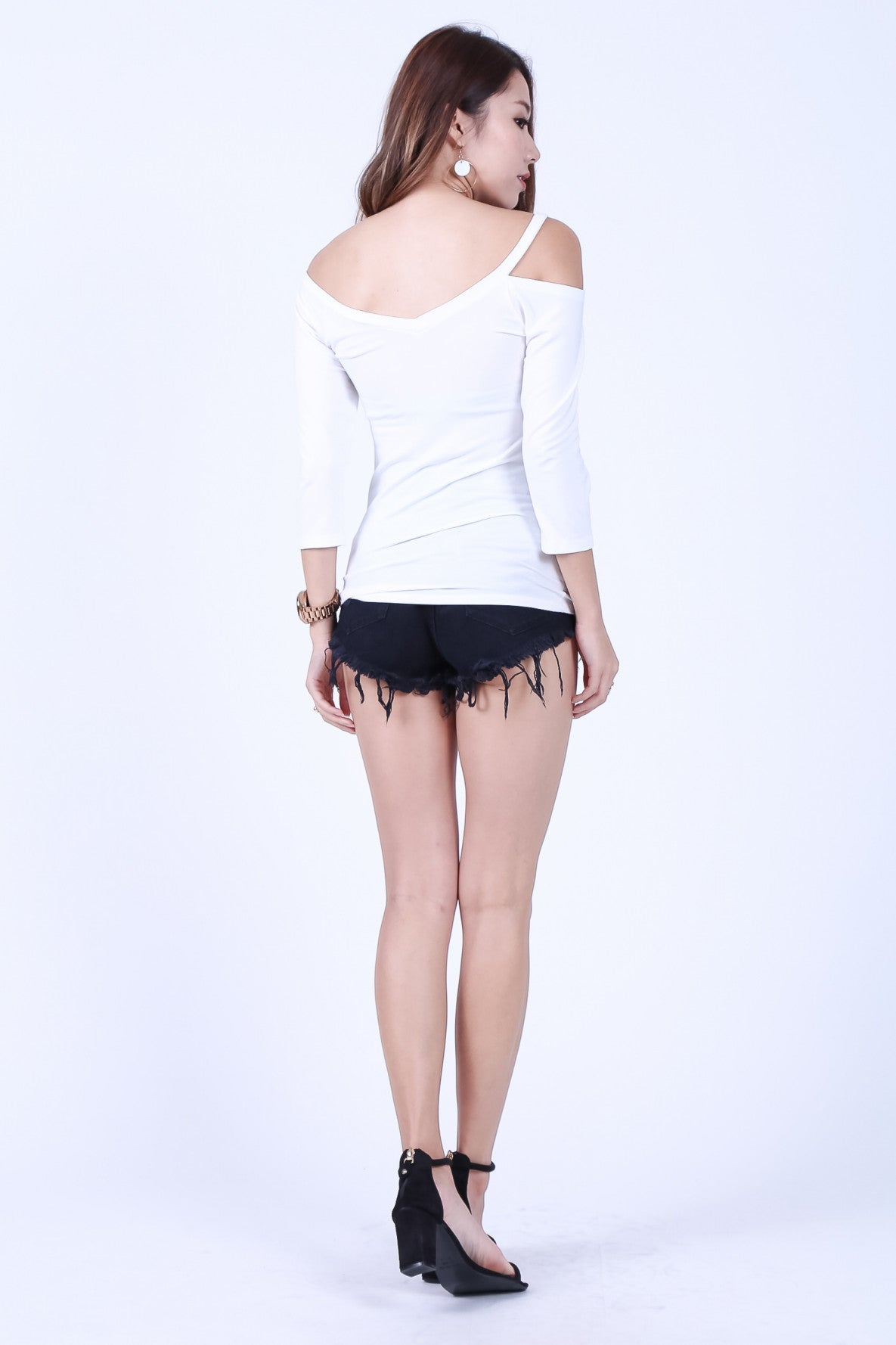 *RESTOCKED* COMFY DUAL STRAPS TOP IN WHITE - TOPAZETTE