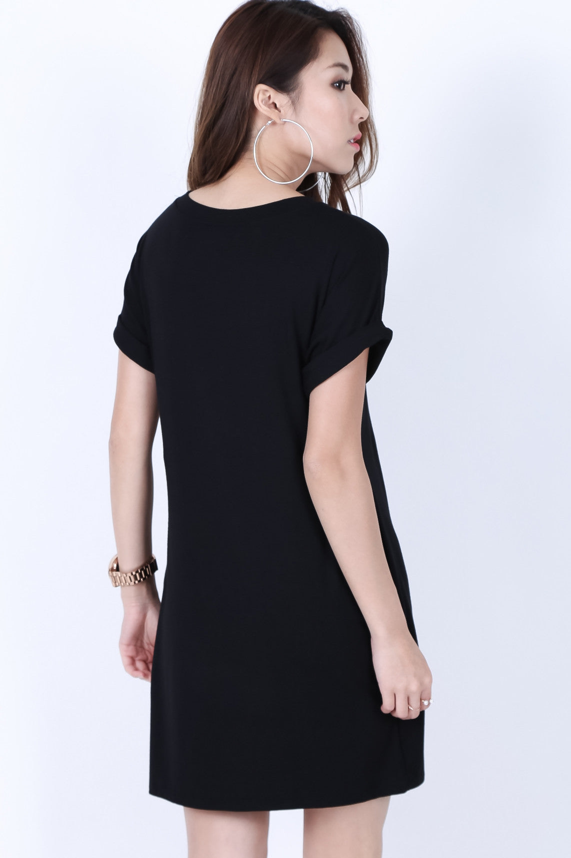 *RESTOCKED* POCKETFUL OF SUNSHINE DRESS IN BLACK - TOPAZETTE