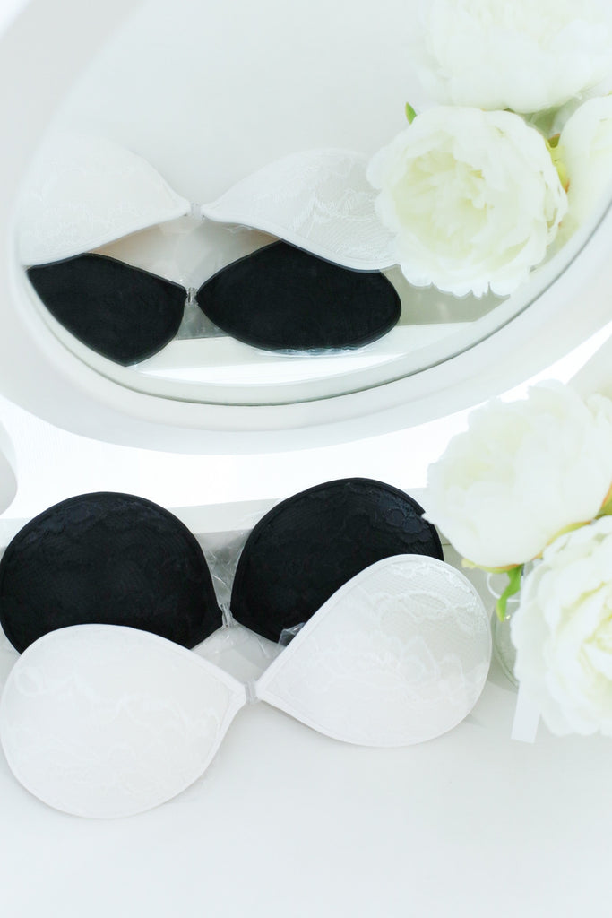 *RESTOCKED* LACE NUBRA IN BLACK