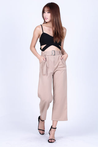 SHEA CULOTTES IN TAUPE