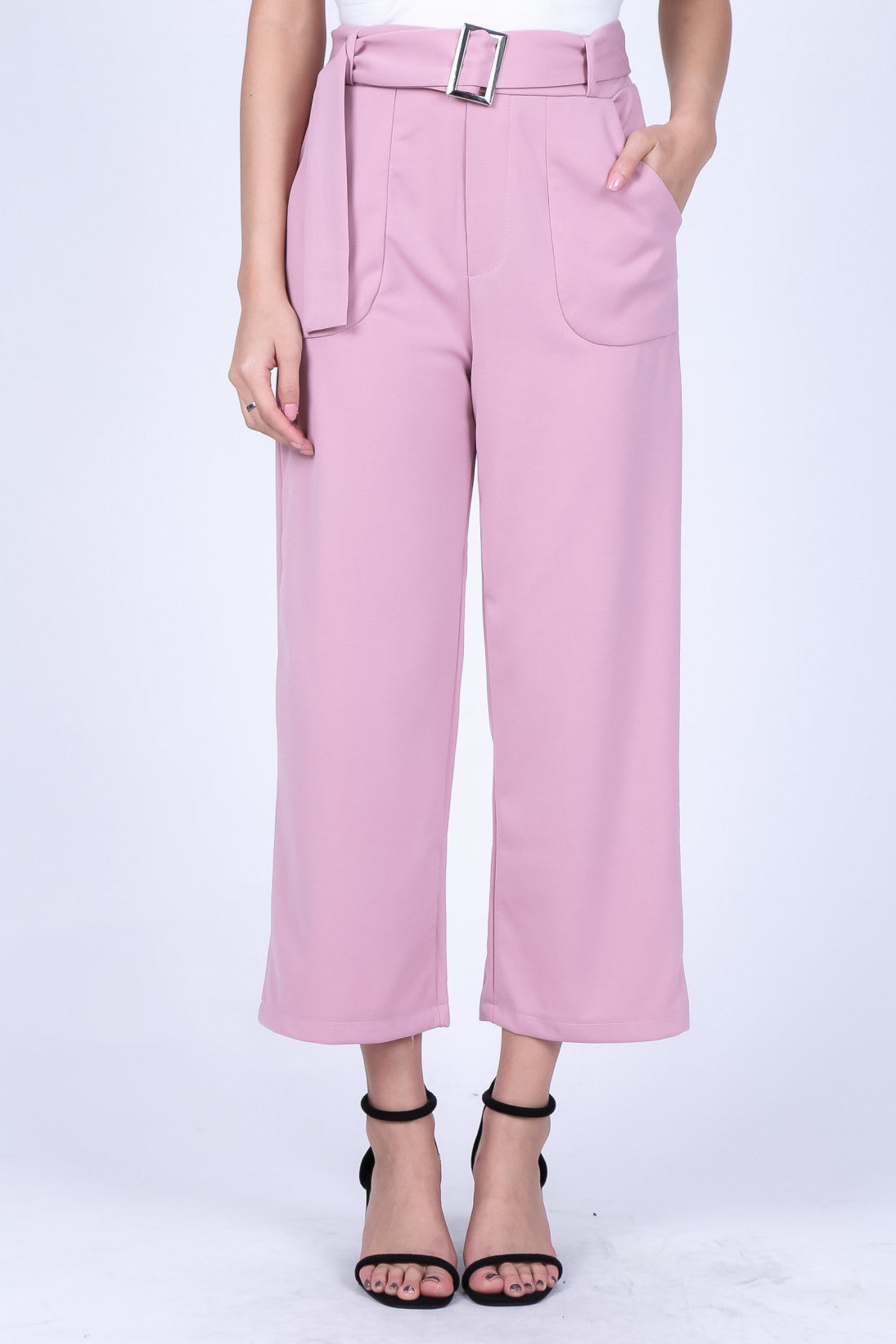 SHEA CULOTTES IN BABY PINK