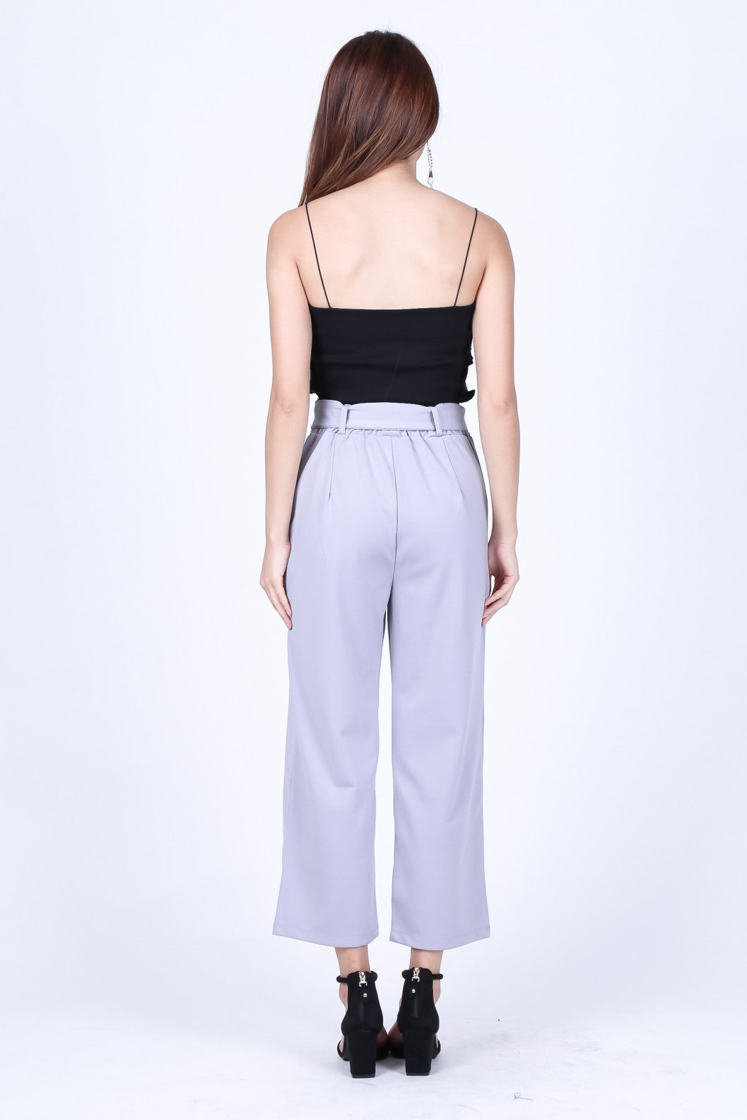 *RESTOCKED* SHEA CULOTTES IN GREY
