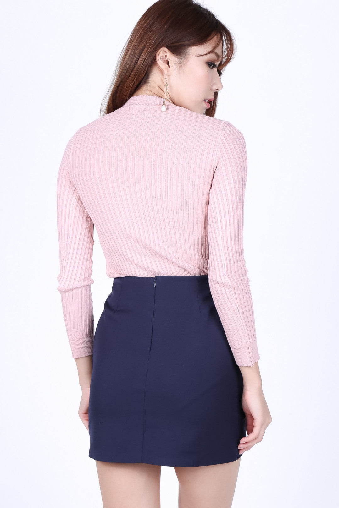 *RESTOCKED* WILLOW SOFT KNIT TOP IN BABY PINK