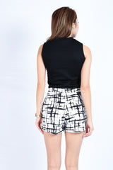 GRAFFITI SKORTS IN WHITE (S-XL)