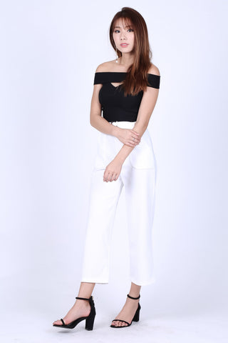 SHEA CULOTTES IN WHITE
