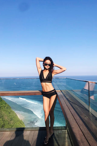 *RESTOCKED* ZEN NETTED BIKINI SET (BLACK)