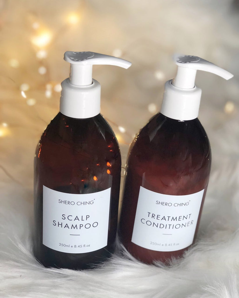 SHERO CHING - SCALP SHAMPOO AND TREATMENT CONDITIONER SET