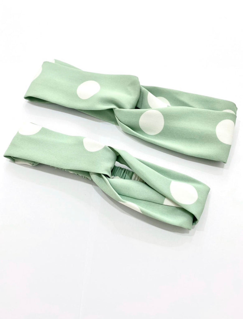 *LITTLE TOPAZETTE* THE POLKA DOT COLLECTION HEADBAND (ADULT/ KIDS) - TOPAZETTE