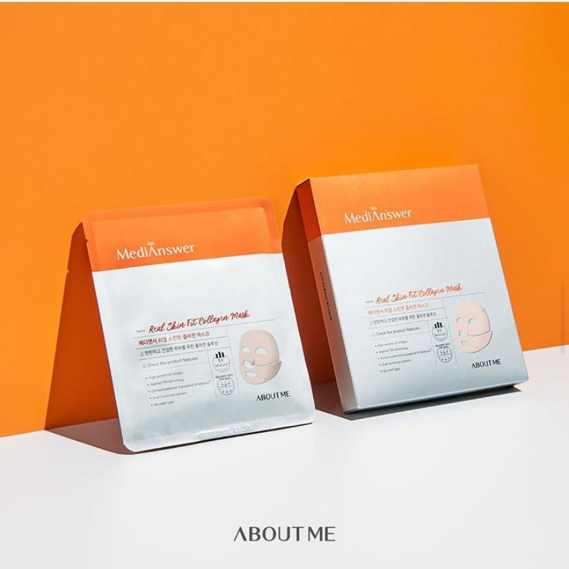 MEDI ANSWER REAL SKIN FIT COLLAGEN MASK