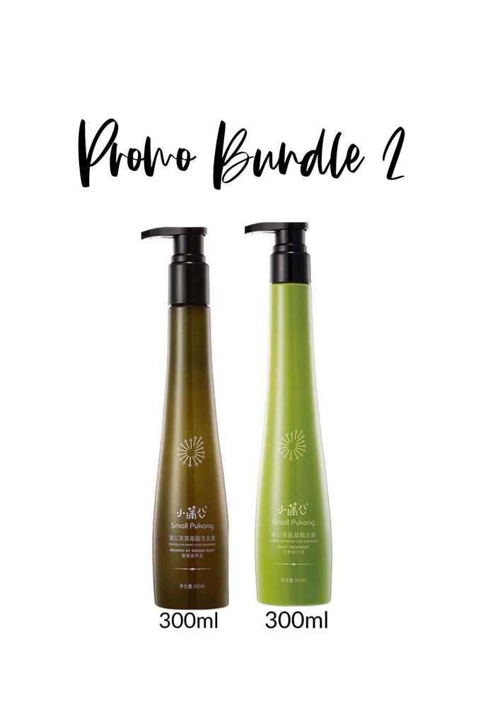 *PROMO BUNDLE 2* SHAMPOO + HAIR MASK - TOPAZETTE