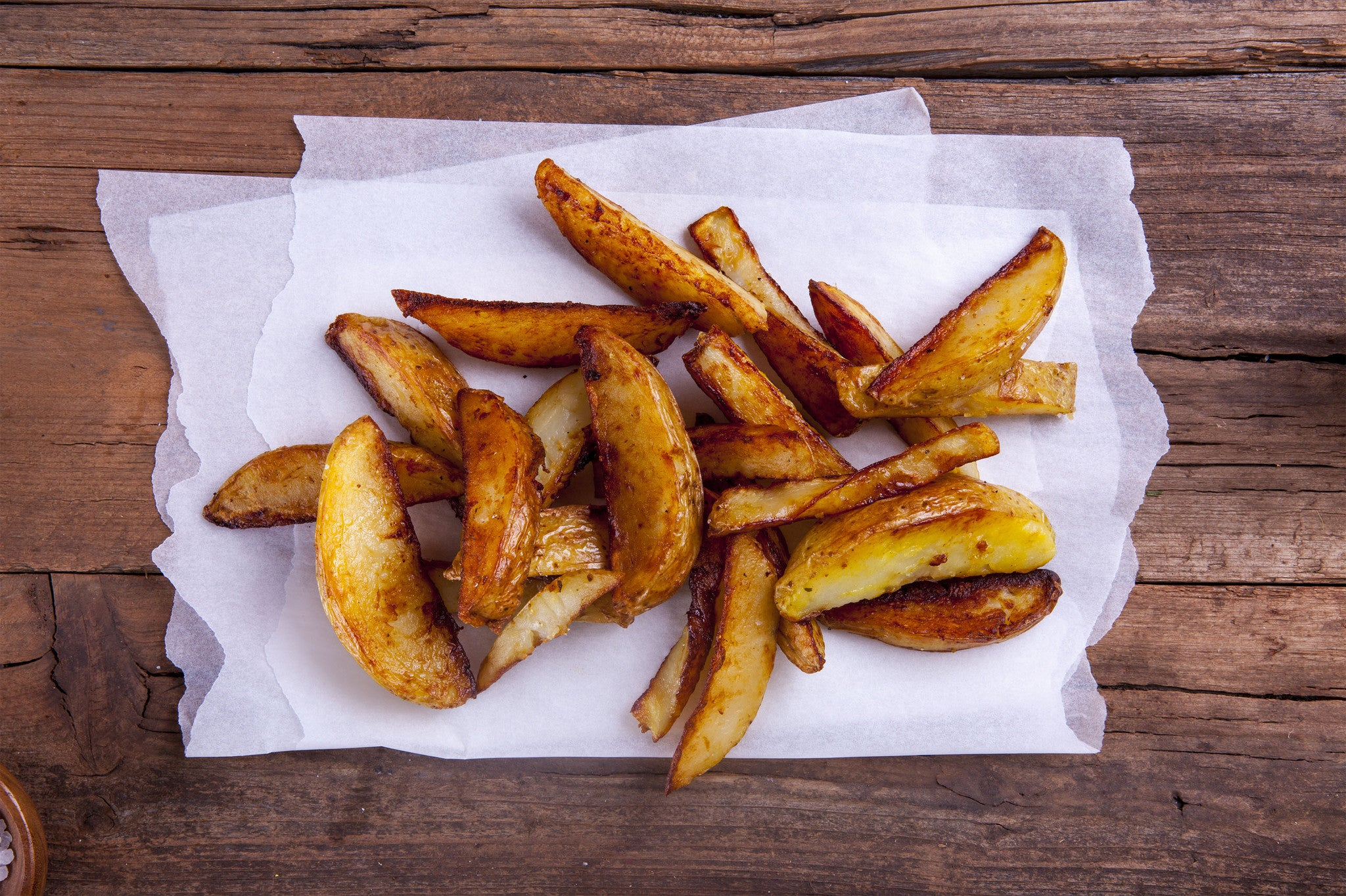 COMING SOON : Crunchy Potato wedges + Protein