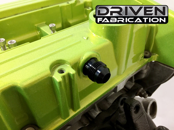 Subaru Dealers In Ct >> Evo 8-9 10an PCV Valve Cover Fitting – Driven Fabrication