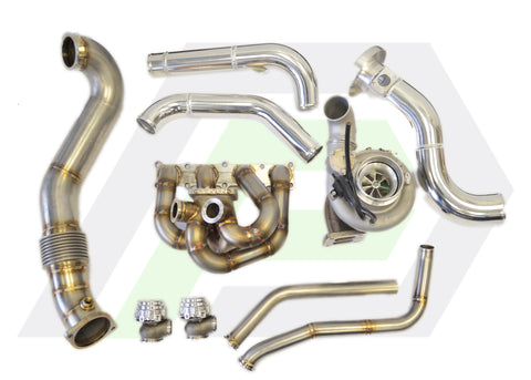 Evo X Top Mount Turbo Kit - Borg Warner EFR