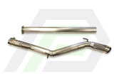 "3.5"" TiTAN Single Exit Cat Back Exhaust"
