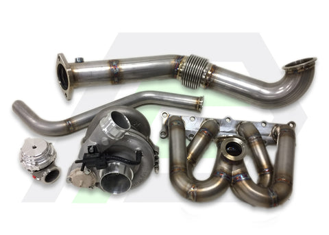 Evo X Top Mount Vband Turbo Kit