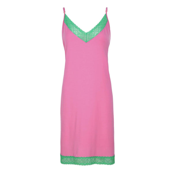 Chemise, Pink and Green