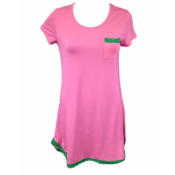 Nightdress, Pink and Green