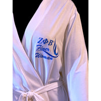 Embroidered Robe, Zeta - Finer Woman