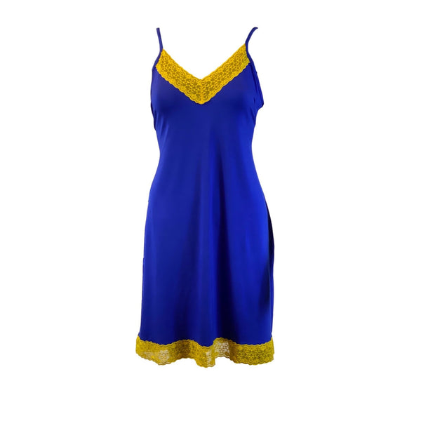 Chemise, Blue and Gold