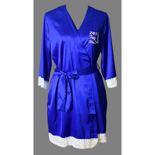 Satin Robe, Zeta - Finer Woman