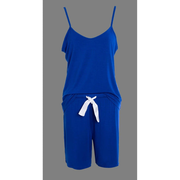 Cami and Short Set, Blue