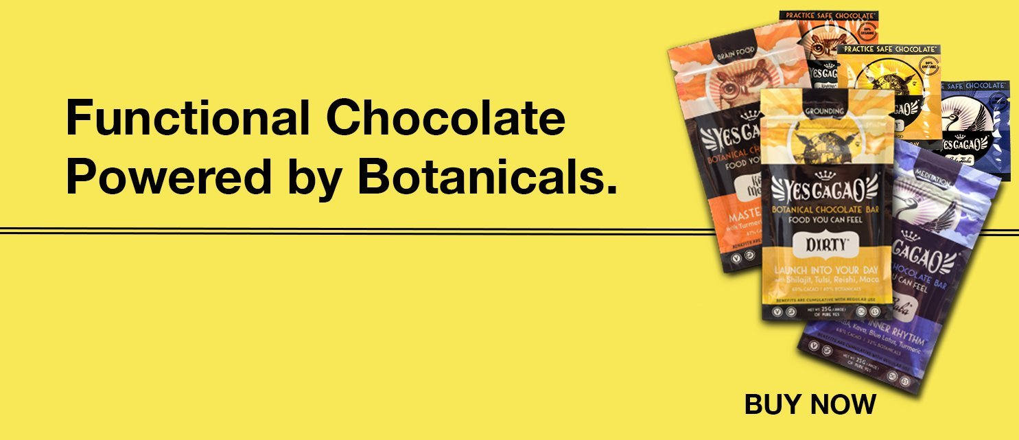 BOTANICAL CHOCOLATE: FOOD YOU CAN FEEL