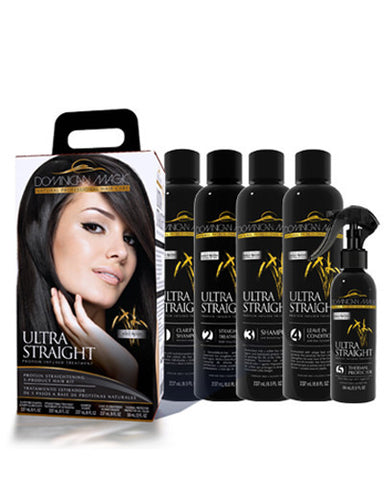 Dominican Magic Ultra Straight Protein Infused Straightening Kit - Dominican magic
