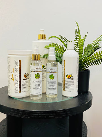 Dominican Magic Nourishing Natural Hair Blow Out Kit - Dominican magic