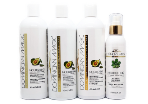 Dominican Magic Nourishing Natural Hair Blow Out Kit