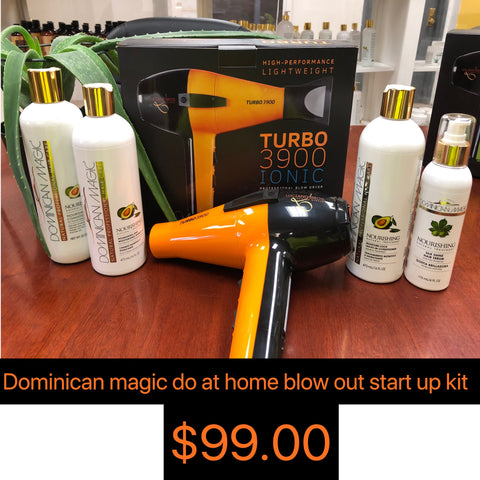 Dominican Magic- Do at home blow out start up kit