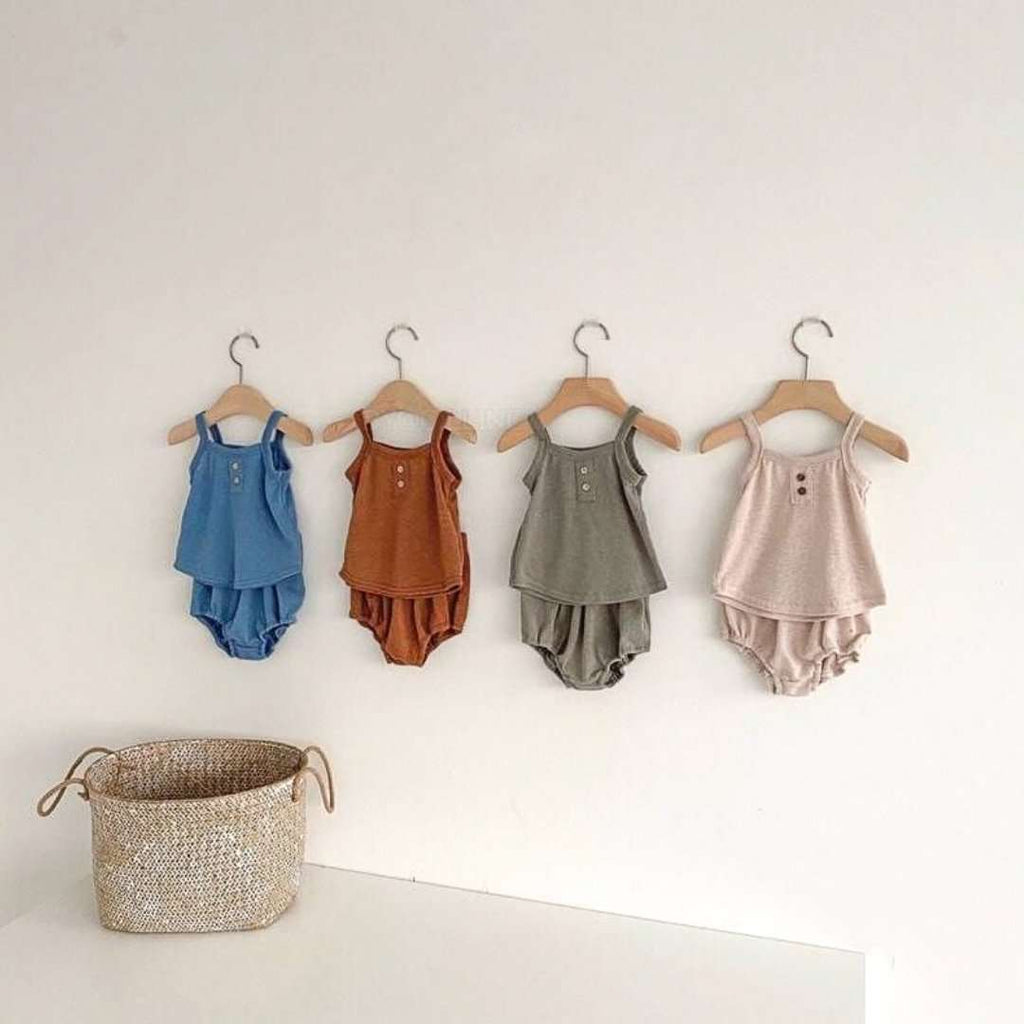 Baby Linen Knit Set - Choulala Box