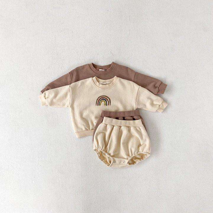 Bebe Rainbow Top Bottom Set - Choulala Box