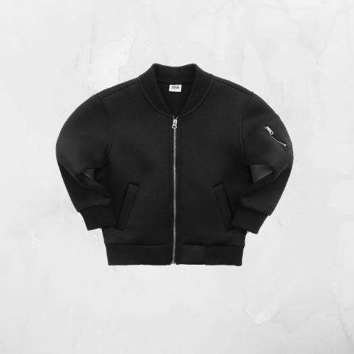 Benson Black Bomber Jacket - Choulala Box