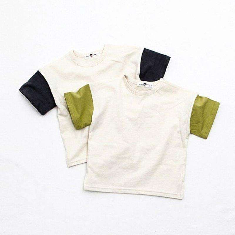 Block Color Tee - Choulala Box