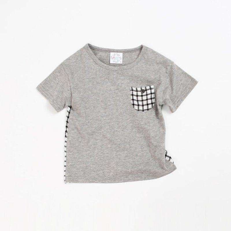 Checkered Cotton T-shirt - Choulala Box