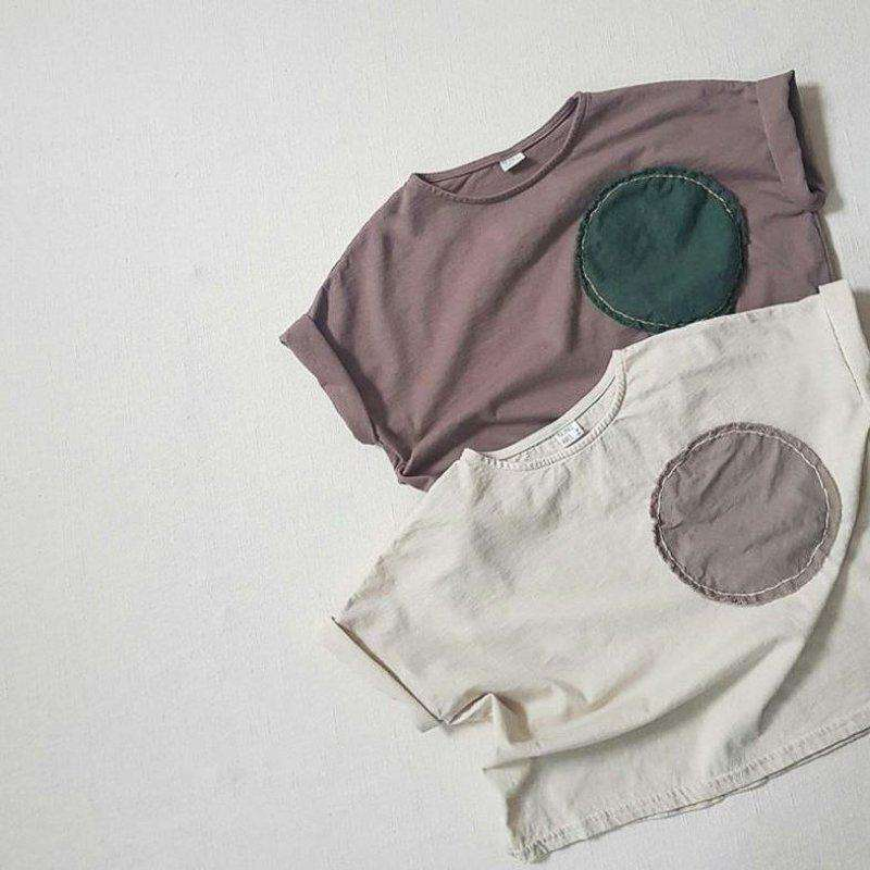 Circle Patch T-Shirt - Choulala Box