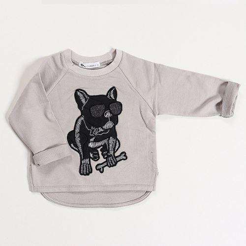 Grey Bull Dog T - Choulala Box